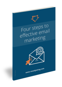 Four steps to effective email marketing